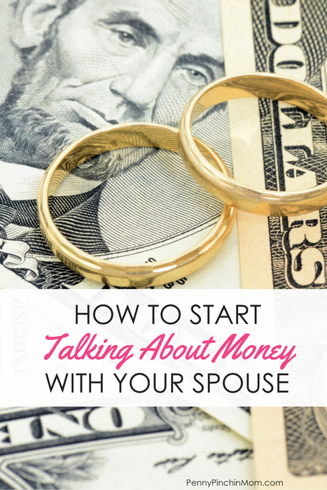 talk about money with your spouse