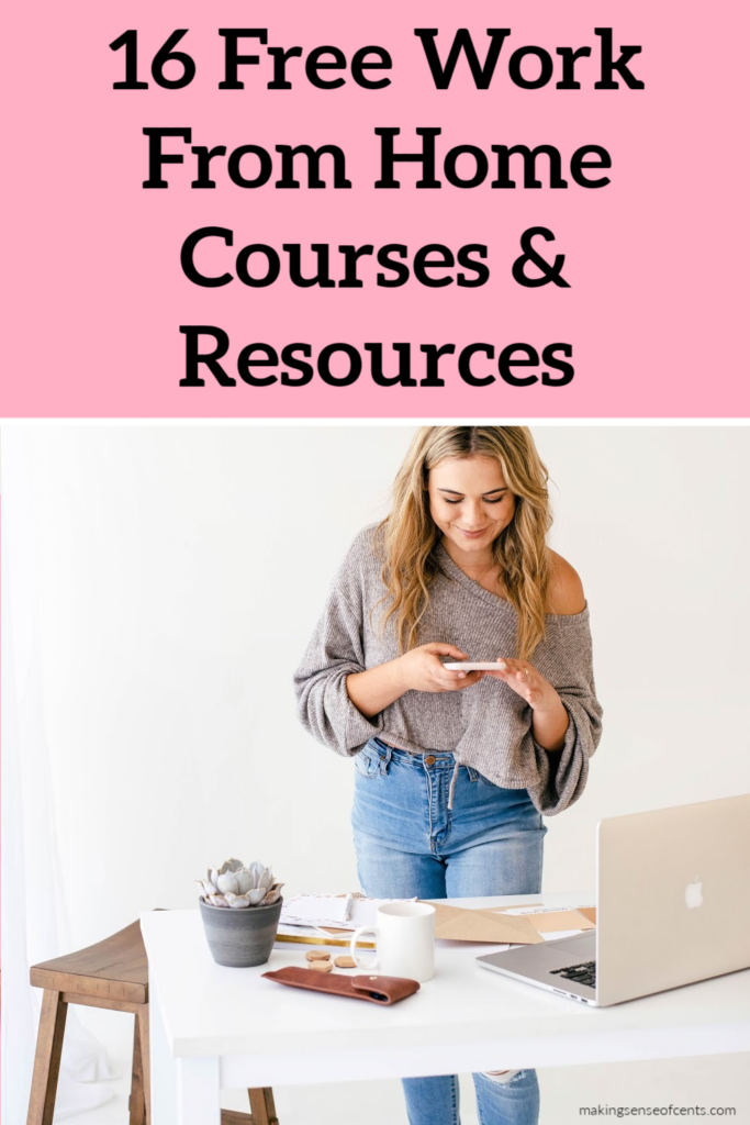 Free Work From Home Courses