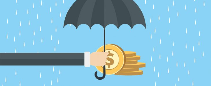 If you're not sure how to use your debit card cash back, consider adding it to your rainy day fund.